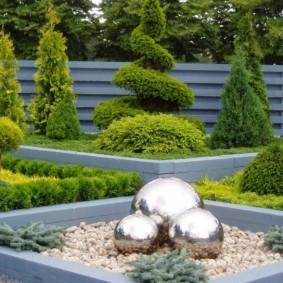 обустройство маленького сада виды идеи