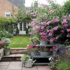 обустройство маленького сада виды дизайна