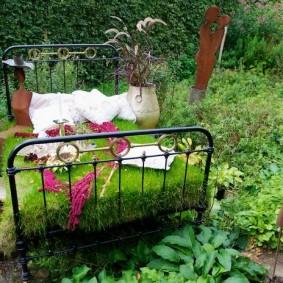 обустройство маленького сада варианты дизайна