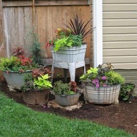 обустройство маленького сада фото обзор