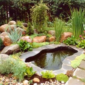 обустройство маленького сада дизайн фото