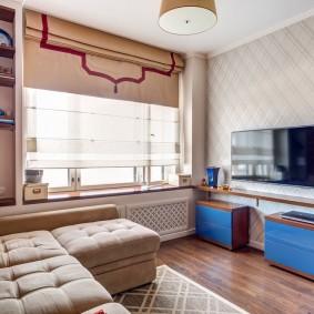 обустройство маленькой комнаты дизайн идеи