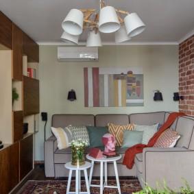 обустройство маленькой комнаты идеи декора
