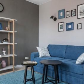 обустройство маленькой комнаты оформление идеи