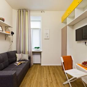 обустройство маленькой комнаты идеи оформление