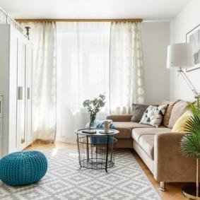 обустройство маленькой комнаты виды дизайна