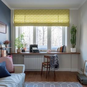 обустройство маленькой комнаты дизайн