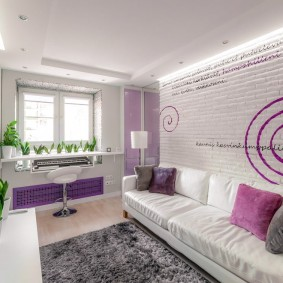 обустройство маленькой комнаты фото дизайн
