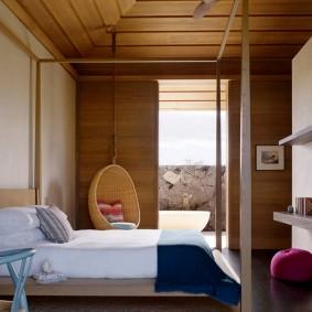 обустройство прямоугольной комнаты фото декора