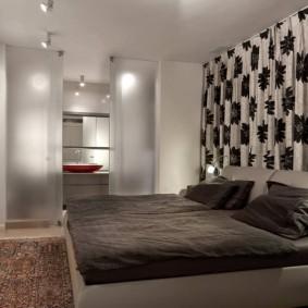 обустройство прямоугольной комнаты интерьер фото