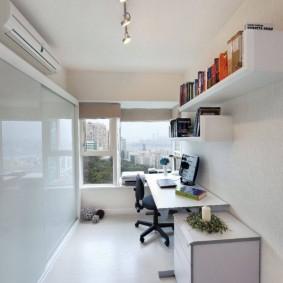 обустройство прямоугольной комнаты фото вариантов