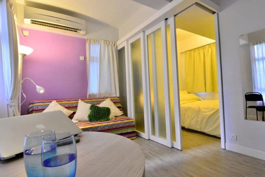 Организация искусственного освещения в спальне-гостиной