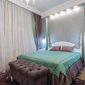 освещение в спальне фото декора