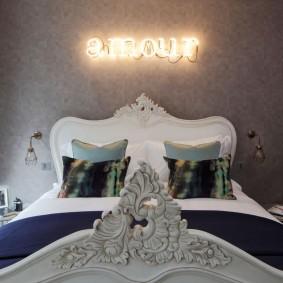освещение в спальне декор идеи