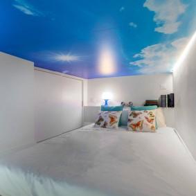 освещение в спальне оформление