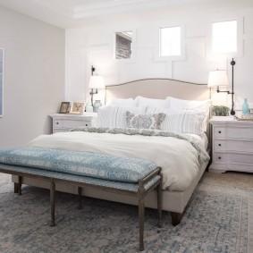 освещение в спальне оформление идеи