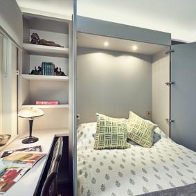 освещение в спальне фото вариантов