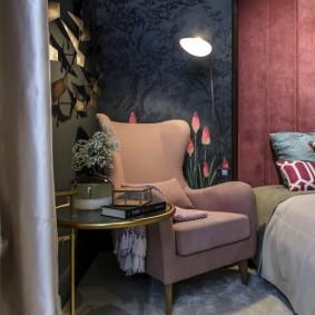 освещение в спальне виды дизайна