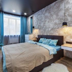 освещение в спальне дизайн