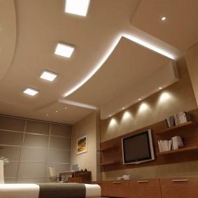 освещение комнат в квартире фото декор