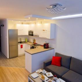 освещение комнат в квартире фото интерьера
