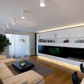 освещение комнат в квартире фото