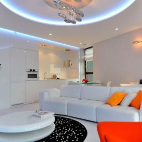 освещение комнат в квартире идеи вариантов
