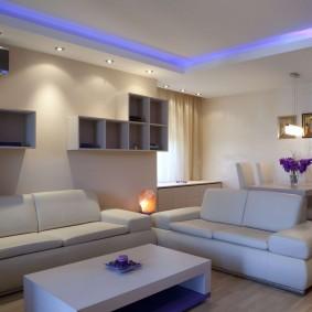 освещение комнат в квартире идеи фото