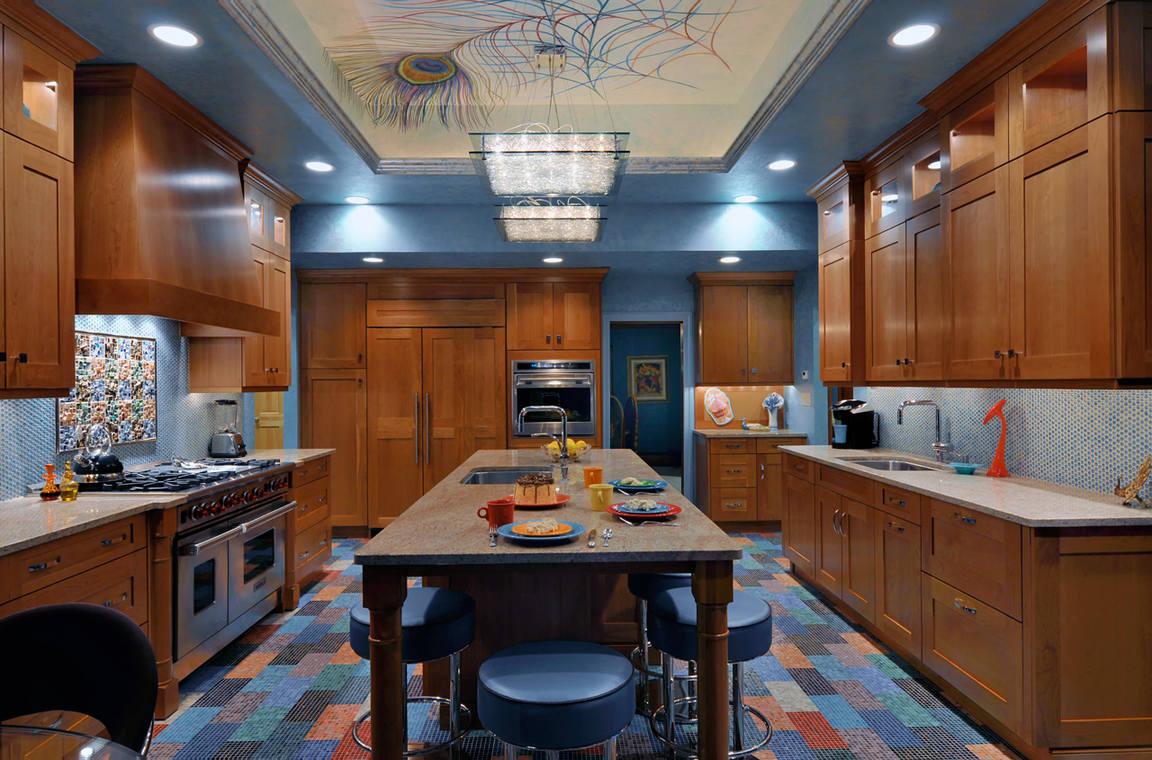 освещение комнат в квартире кухня