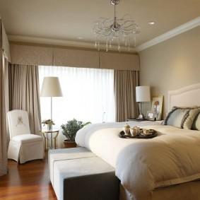 освещение спальни с натяжным потолком идеи вариантов