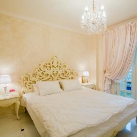 освещение спальни с натяжным потолком виды дизайна