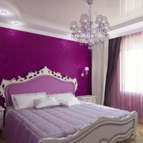 освещение спальни с натяжным потолком фото дизайна