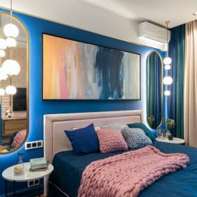 освещение в спальне дизайн фото