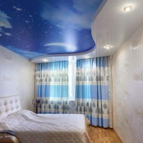 освещение в спальне с натяжным потолком идеи декор