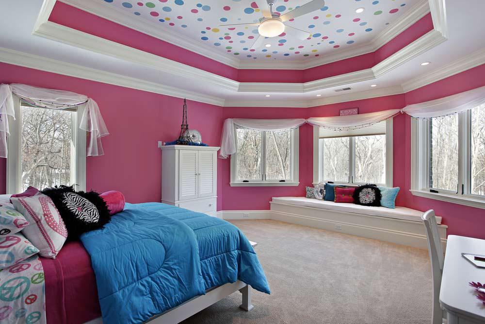 освещение в спальне с натяжным потолком оформление фото