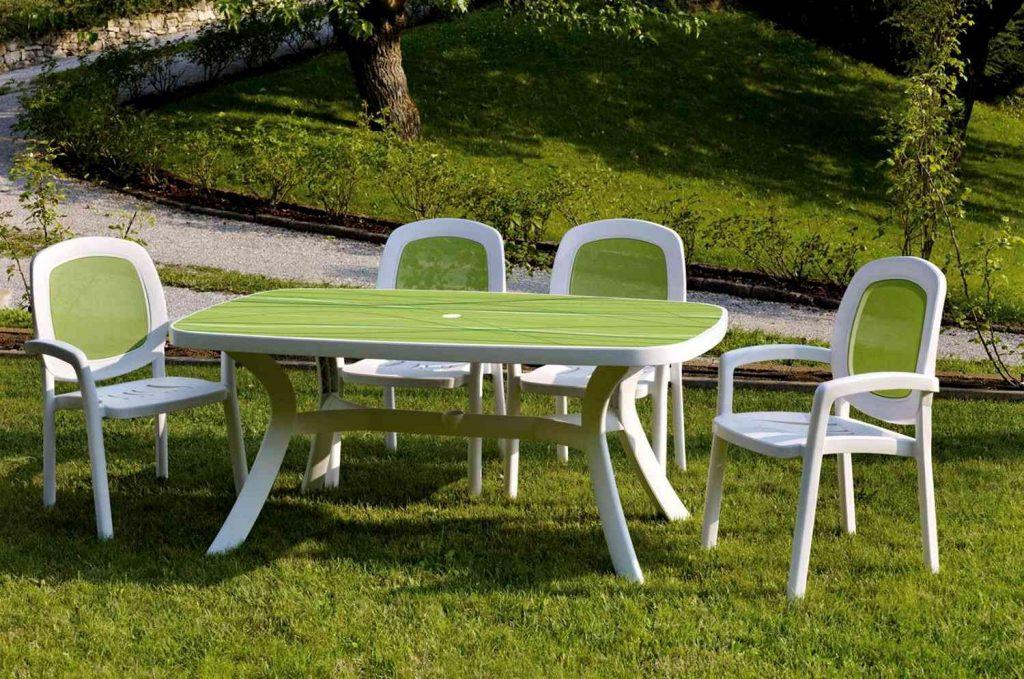пластиковая садовая мебель фото