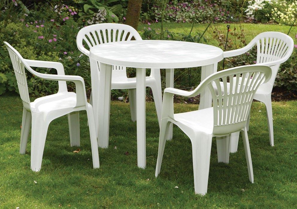 пластиковая садовая мебель идеи
