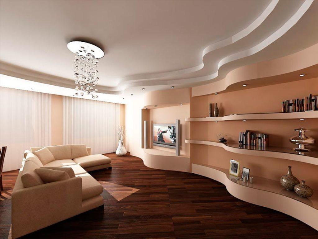 подвесной потолок в интерьере