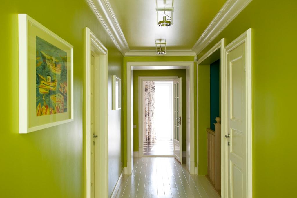 это покраска коридора в квартире фото выбор