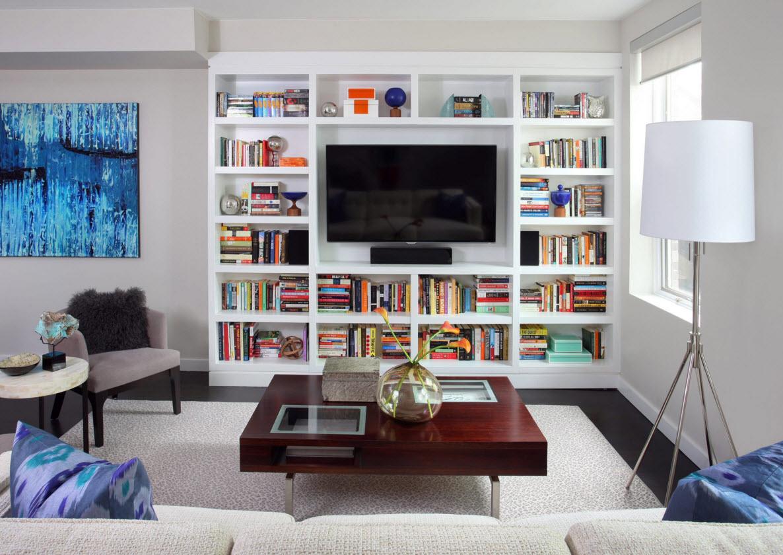 прямоугольная комната фото идеи