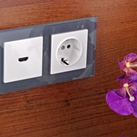розетки и выключатели в квартире виды фото