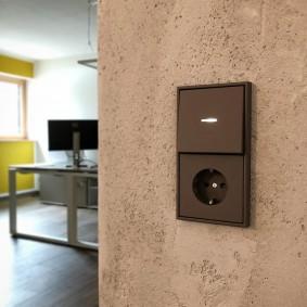 розетки и выключатели в квартире фото дизайна