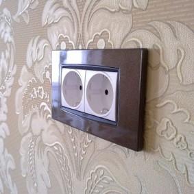 розетки и выключатели в квартире дизайн идеи