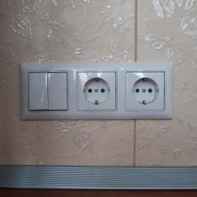 розетки и выключатели в квартире обустройство идеи