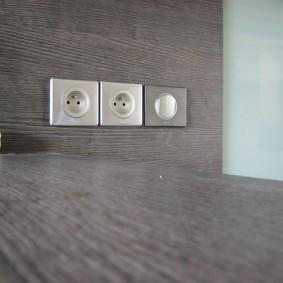 розетки и выключатели в квартире интерьер идеи