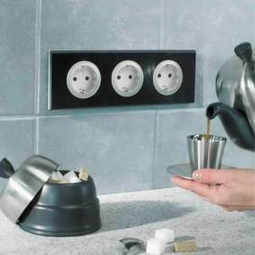 розетки и выключатели в квартире идеи интерьер