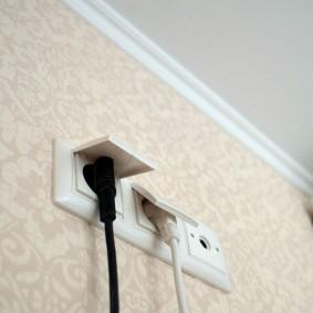 розетки и выключатели в квартире оформление