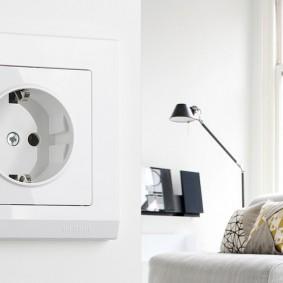 розетки и выключатели в квартире фото оформление