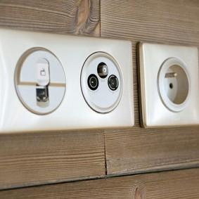 розетки и выключатели в квартире варианты