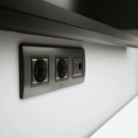 розетки и выключатели в квартире фото варианты